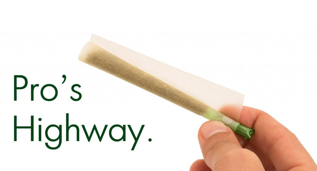 pros thing how to roll a joint or a blunt with glass filter tips joint shape with bingos smart glass tips