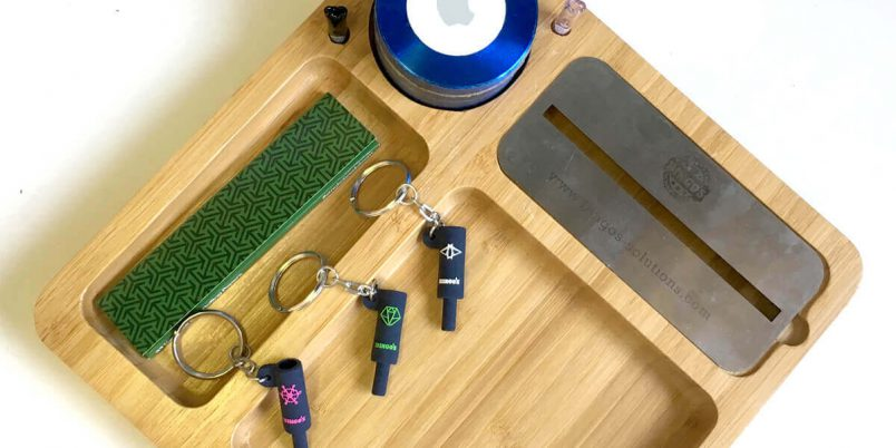 Bingo's Comfort Smart Rolling Tray + Accessories