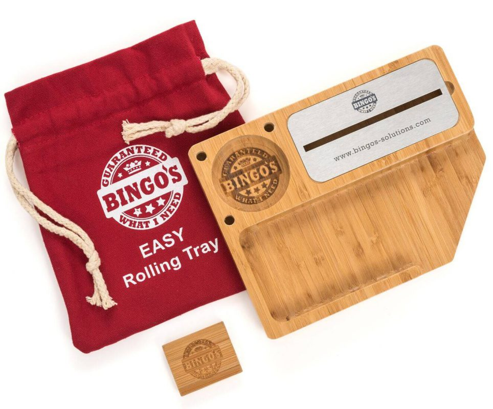 Bingos Smart Bamboo Rolling Tray Main Image model EASY